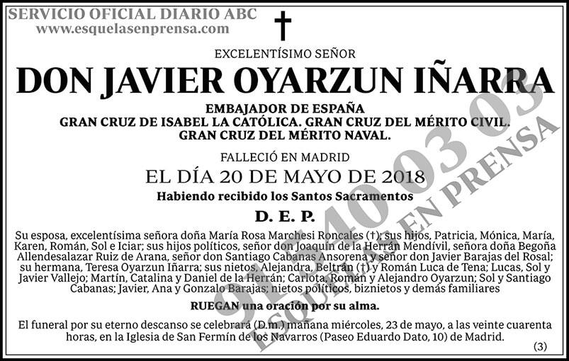 Javier Oyarzun Iñarra